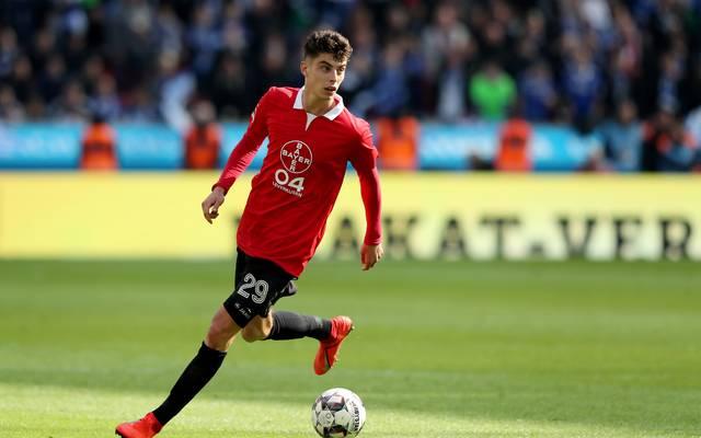 Kai Havertz bleibt noch mindestens ein Jahr bei Bayer Leverkusen