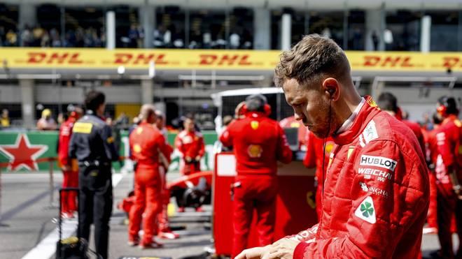 Sebastian Vettel musste sich in Schanghai mit Platz acht begnügen