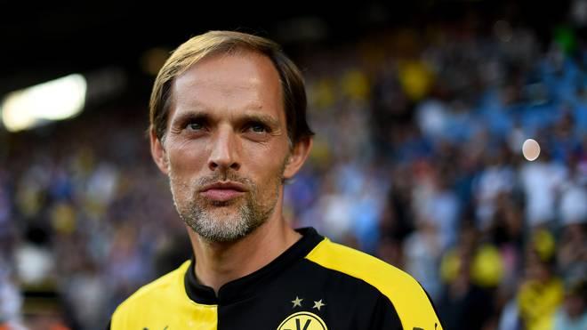 Thomas Tuchel Trainer Borussia Dortmund
