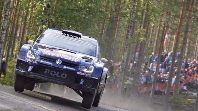 Andreas Mikkelsen war im Shakedown schnellster Volkswagen-Pilot