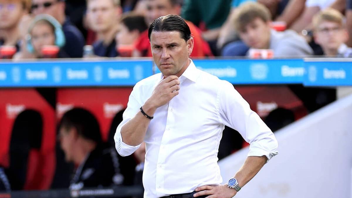 Gerardo Seoane und Bayer Leverkusen sind bei Arminia Bielefeld zu Gast