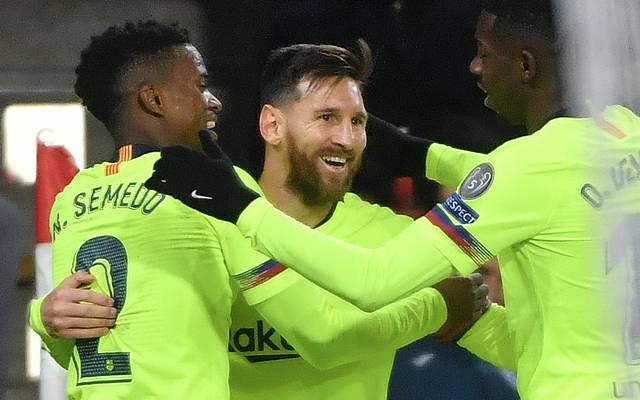 Lionel Messi brachte den FC Barcelona in Führung