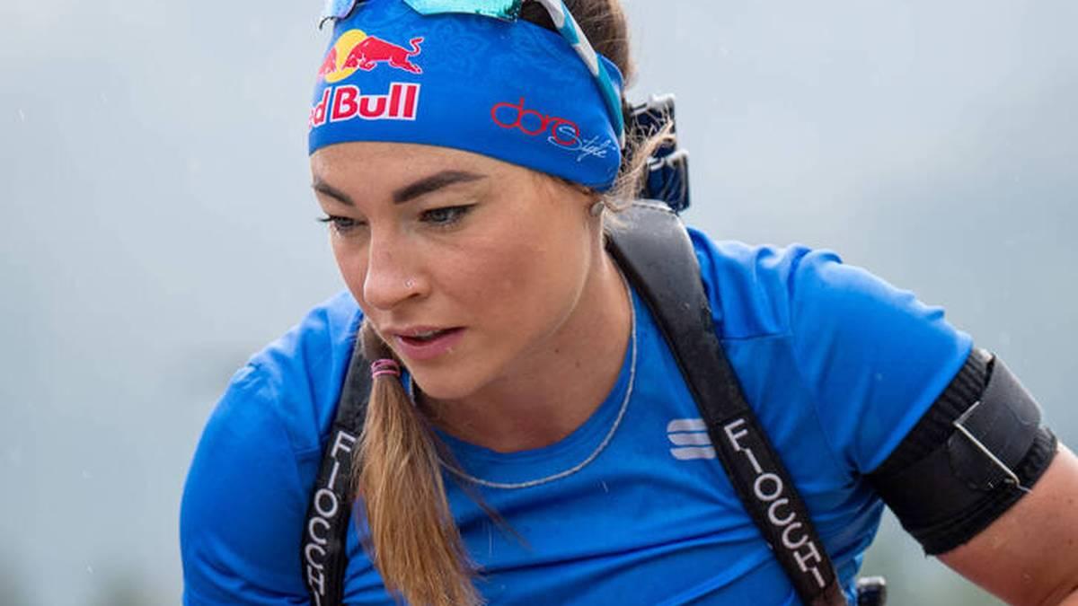 Dorothea Wierer bereitet sich auf die Biathlon-Saison vor