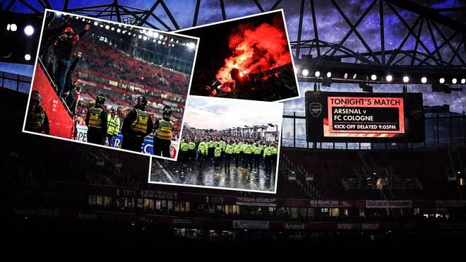 Die Pressestimmen nach dem Fan-Chaos bei der Partie Arsenal gegen Köln