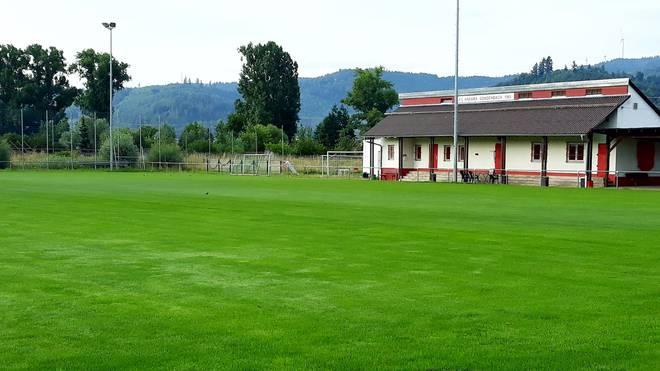 Das Vereinsgelände des FC Ankara am Ortsrand von Gengenbach