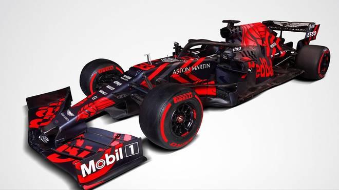 Formel 1: Red Bull stellt neues Auto vor - erstmals mit Honda-Motor