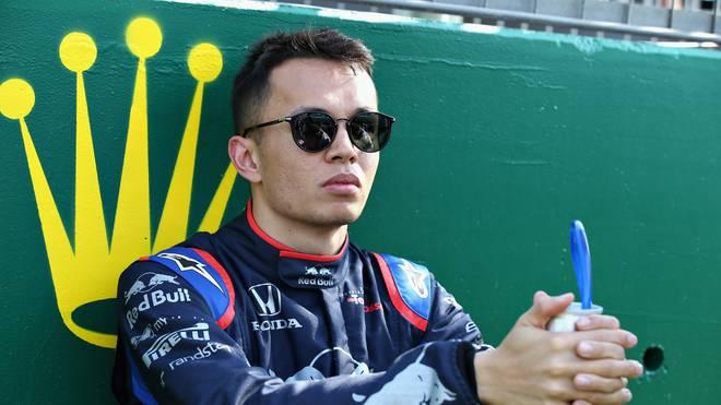 Alexander Albon  fährt seine erste Saison in der Formel 1