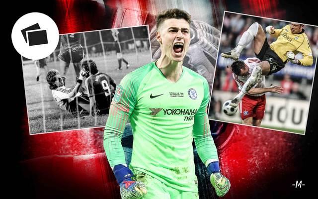 Chelsea-Torhüter Kepa sorgte mit seiner verweigerten Auswechslung für einen Eklat