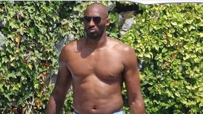 Kobe Bryant zeigt sich auf seinem Instagram-Post etwas dick