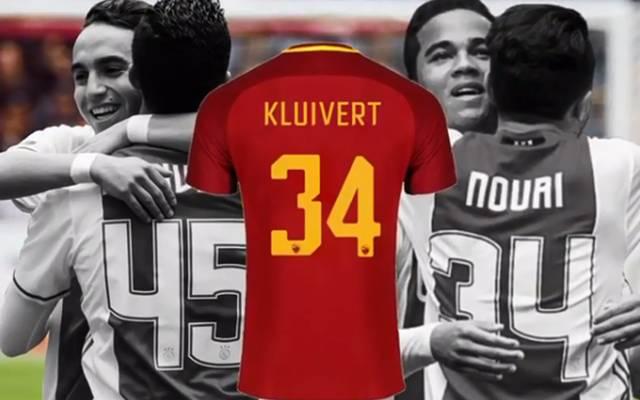 Justin Kluivert und Abdelhak Nouri durchliefen gemeinsam das Jugendprogramm bei Ajax Amsterdam