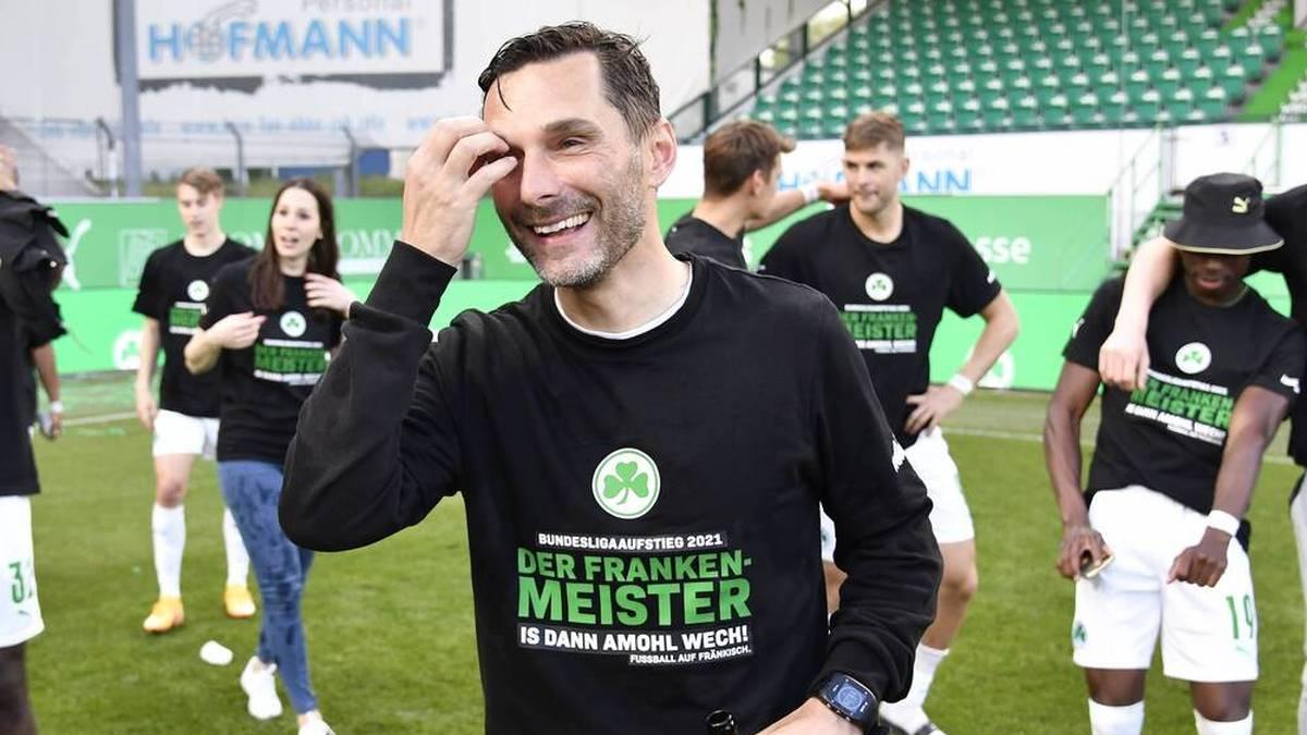 Stefan Leitl führte die SpVgg Greuther Fürth in die Bundesliga
