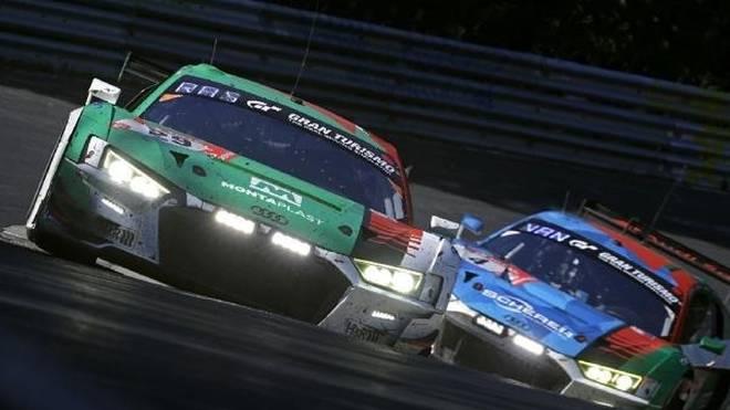 Rene Rast nach dem Überholmanöver gegen den siegreichen Phoenix-Audi