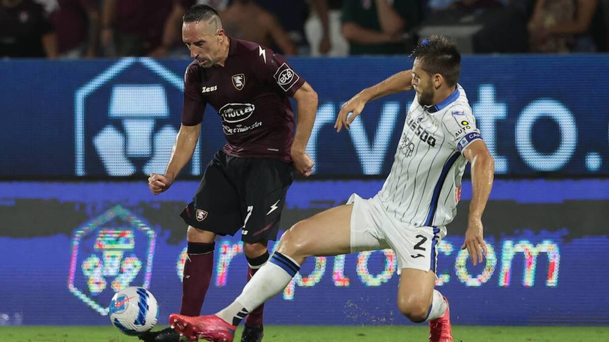 Franck Ribéry wartet weiter auf die ersten Punkte bei US Salernitana