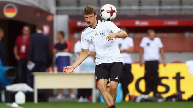 Gegen Tschechien wird Thomas Müller wahrscheinlich spielen