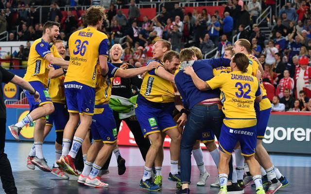Schweden setzt sich erst in der Verlängerung gegen Dänemark durch