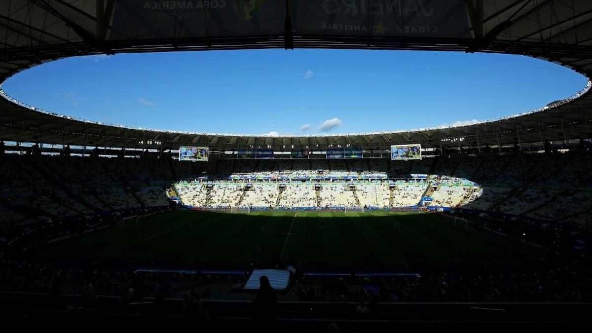 Ins Maracana dürfen 75.000 Zuschauer zum Endspiel