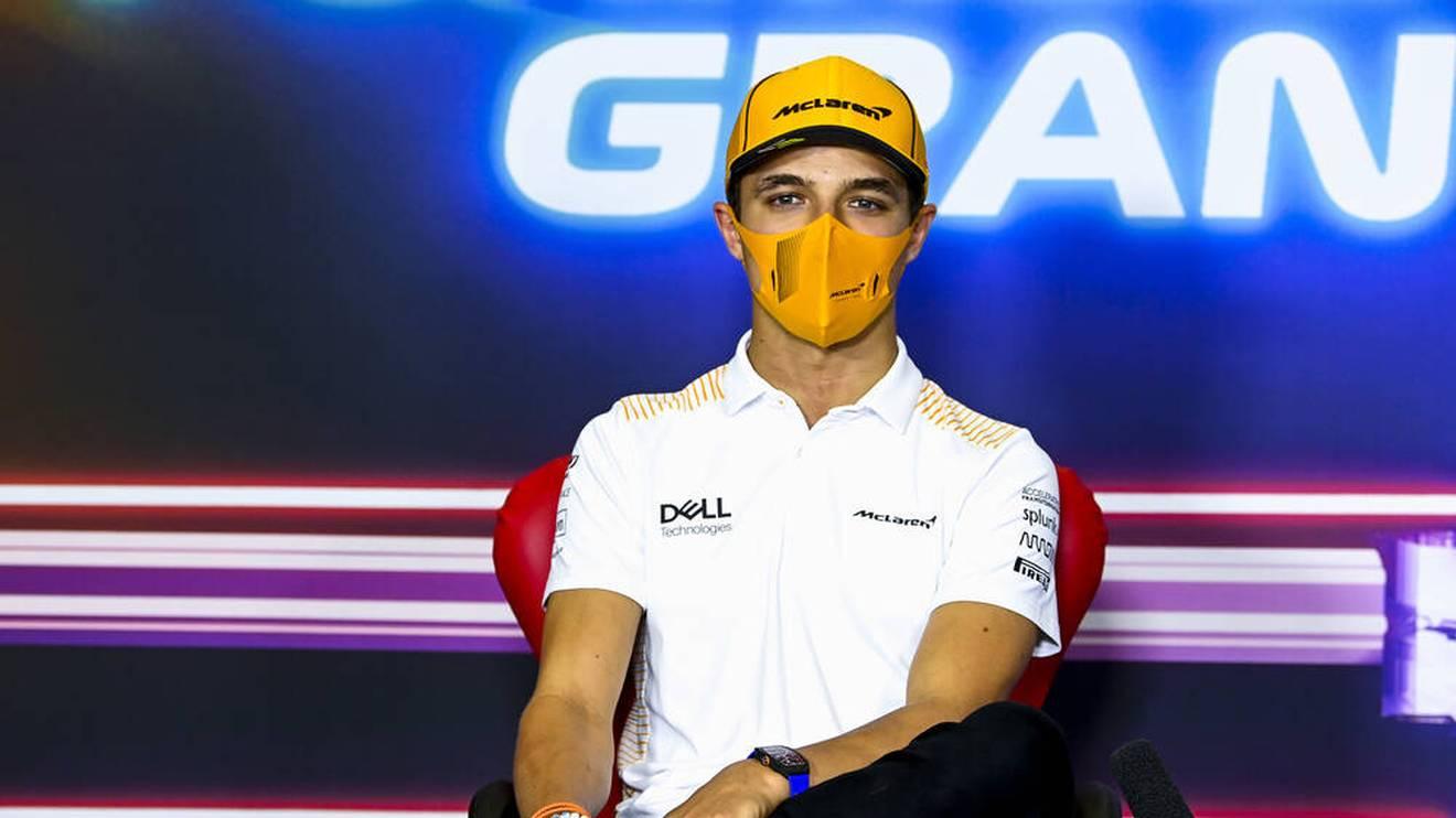 Lando Norris fährt seit 2019 für McLaren-Mercedes in der Formel 1