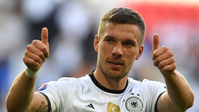 Lukas Podolski bestritt bislang 129 Länderspiele für Deutschland