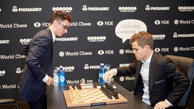 Schach-WM 2018: Magnus Carlsen vs. Fabiano Caruana endet erneut mit Remis