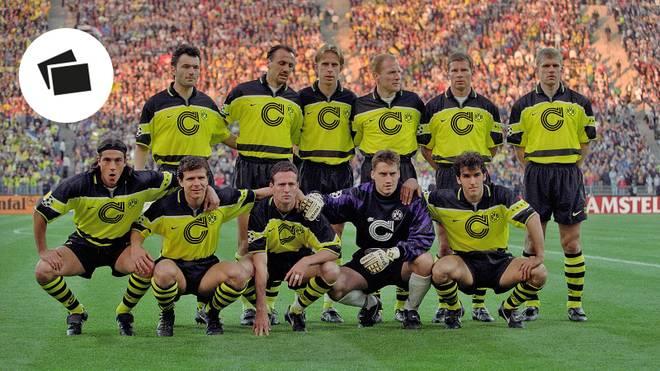 Mit dieser Startelf ging der BVB ins Champions-League-Finale 1997 gegen Juventus