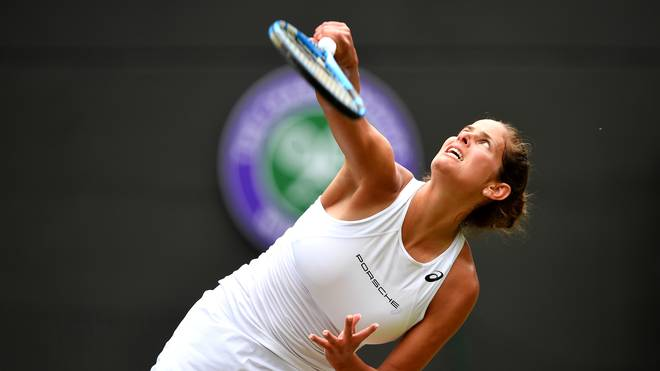 Julia Görges ist in Wimbledon in der dritten Runde an Serena Williams gescheitert