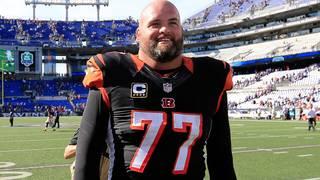 Andrew Whitworth spielt seit 2006 bei den Cincinnati Bengals