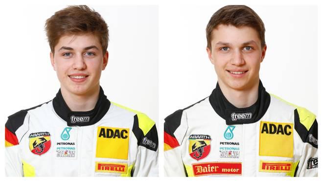 Sebastian Estner (li.) und Andreas Estner fahren für das Team Neuhauser Racing