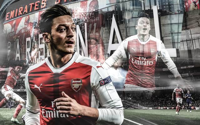 Mesut Özil wechselte 2013 von Real Madrid zum FC Arsenal