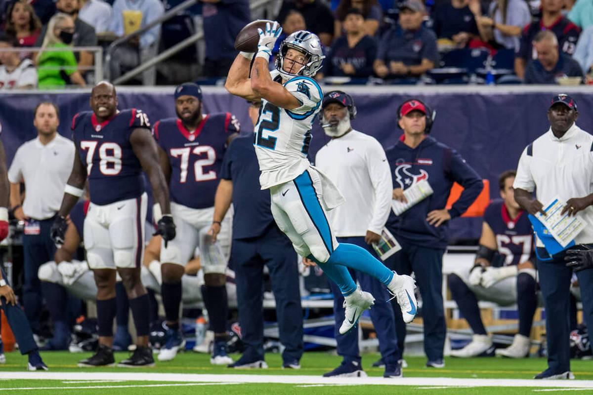 Die Carolina Panthers siegen auch im dritten NFL-Spiel und schlagen die Houston Texans. Doch zwei Stars der Panthers verletzen sich.