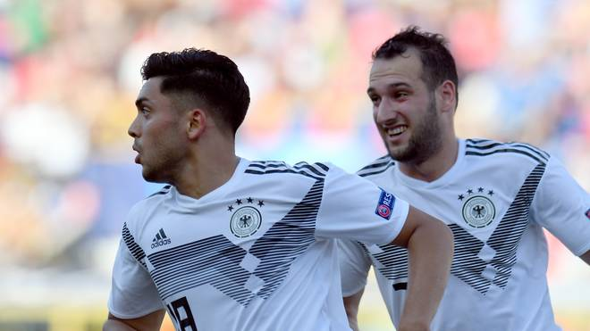 Nadiem Amiri erzielte gegen Rumänien einen Doppelpack