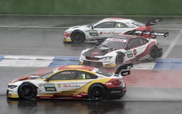 Timo Glocks Rennen wurde schon in der ersten Kurve erschwert