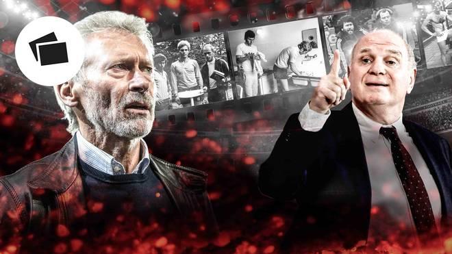 Paul Breitner (l.) und Uli Hoeneß blicken auf eine wechselvolle Geschichte zurück