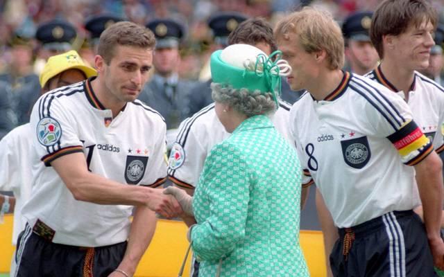 Stefan Kuntz traf bei der EM 1996 die Queen - und das Tor