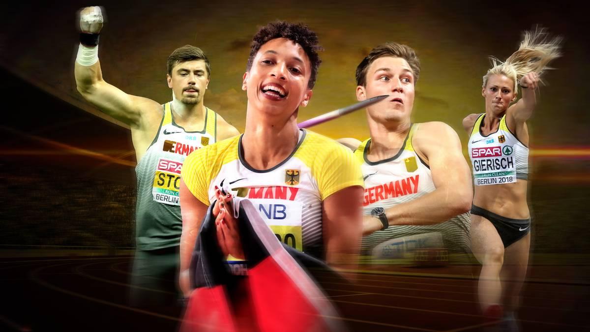 Die DLV-Athleten holten sechs Medaillen in Doha