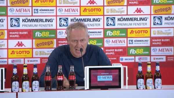 """Abartig geärgert!"" Streich entschuldigt sich bei Mainz"