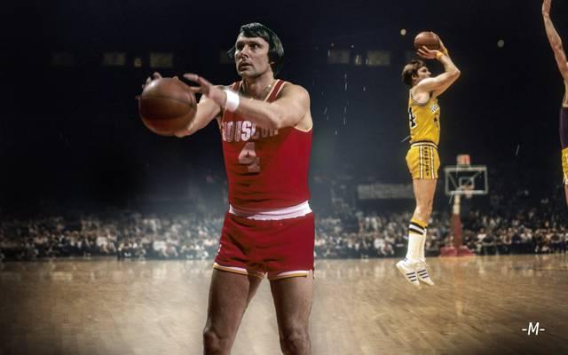 NBA-Legende Rick Barry spielte u.a. für die Houston Rockets und die Golden State Warriors