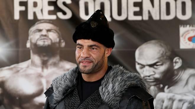 Manuell Charr will seinen Schwergewichts-Titel gegen Fres Oquendo verteidigen