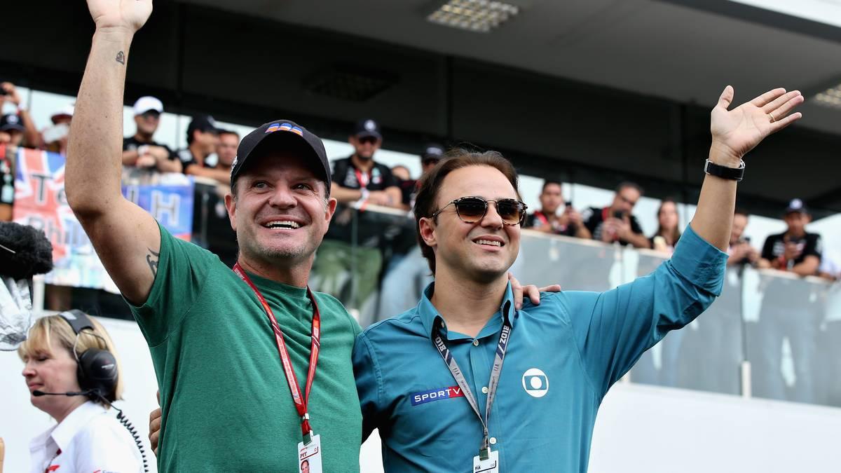 Formel 1 Topverdiener Barichello Massa