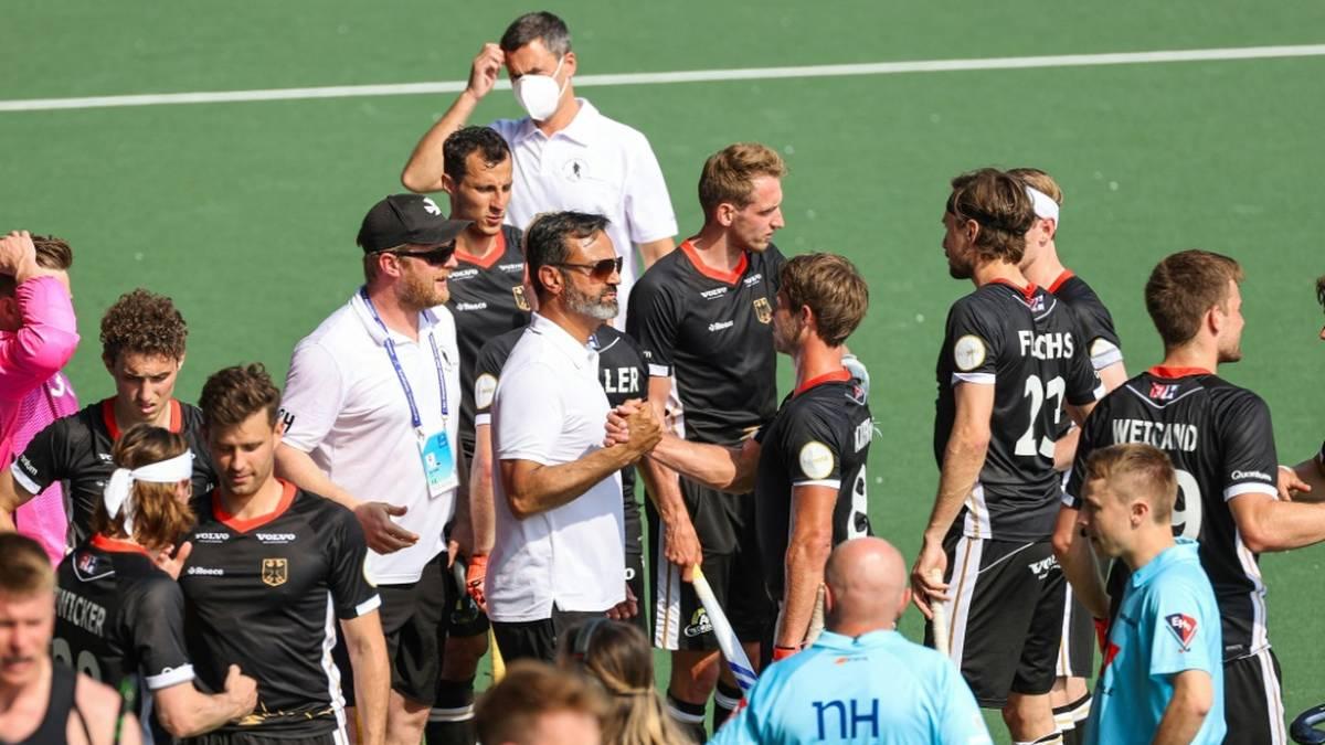 Die deutschen Hockey-Herren starten gut in die EM