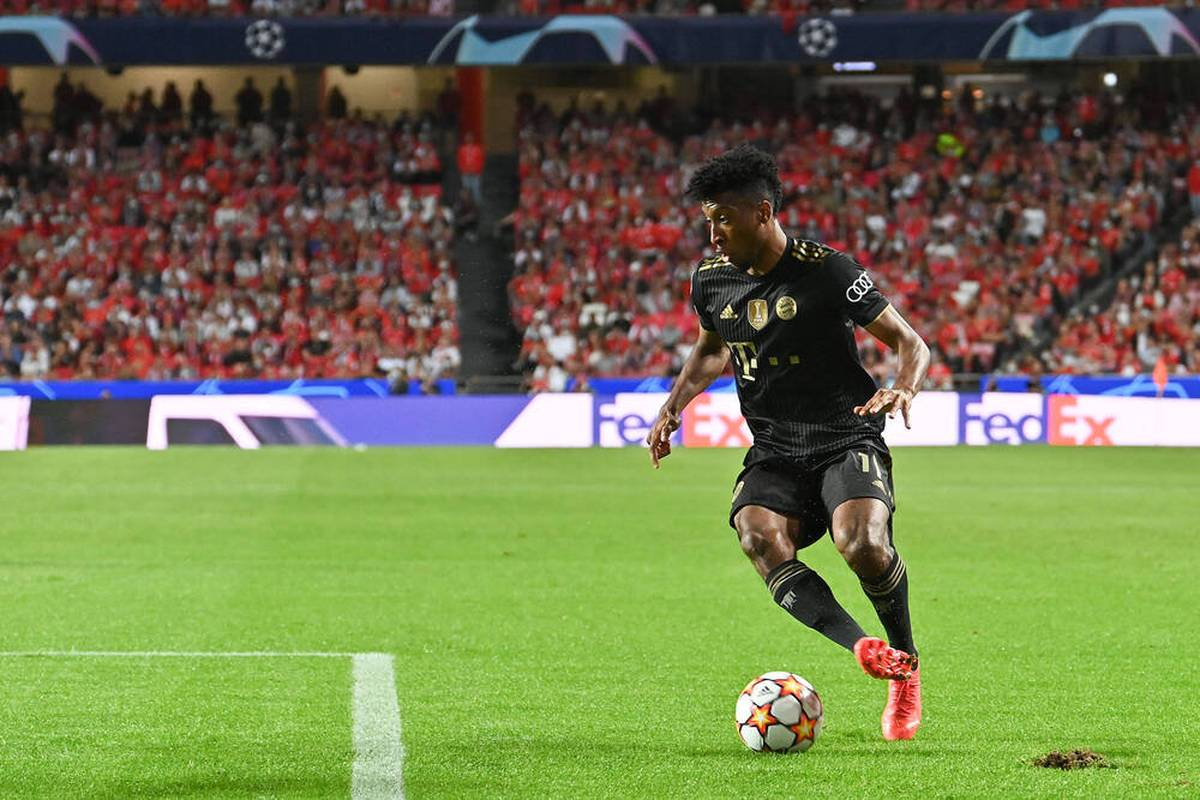 Kingsley Coman überzeugt bei seinem Startelf-Comeback nach mehrwöchiger Leidenszeit. Seine Zukunft beim FC Bayern ist aber nach wie vor ungewiss.