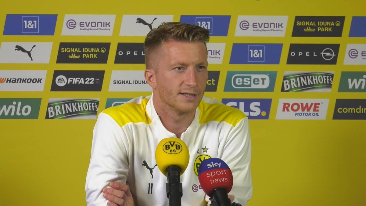 Marco Reus verzichtete freiwillig auf eine Teilnahme bei der Europameisterschaft. Nun hat der Kapitän von Borussia Dortmund über die genauen Umstände seiner Entscheidung gesprochen.