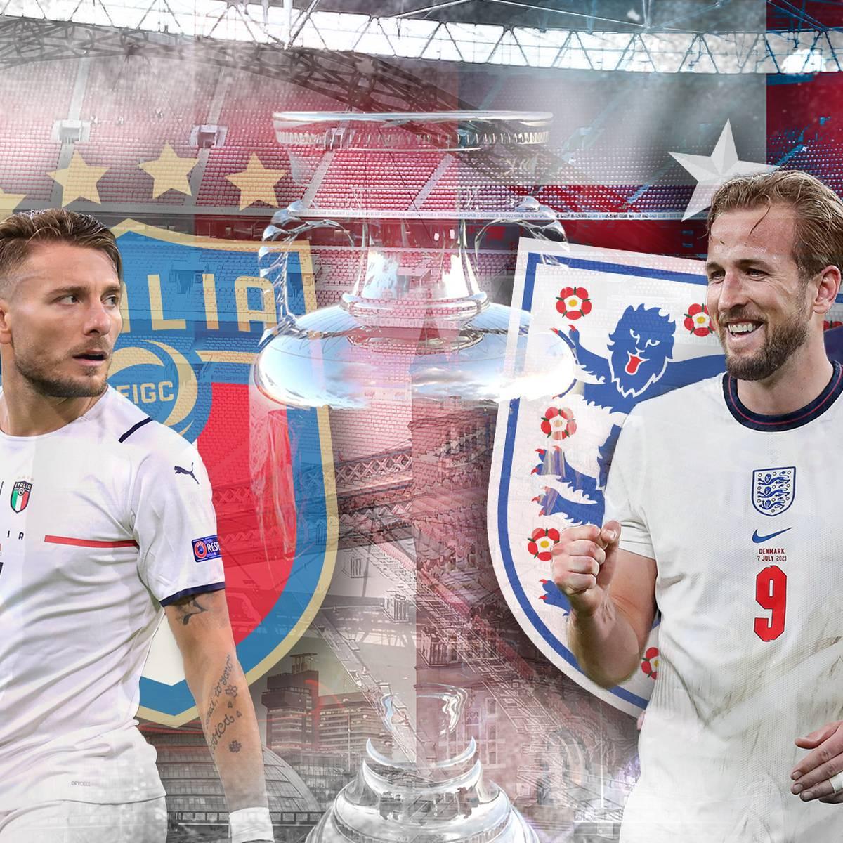 Three Lions vs. Squadra Azzurra: Wer holt den Titel?
