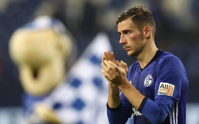 Der Vertrag von Leon Leon Goretzka bei Schalke läuft im Sommer aus
