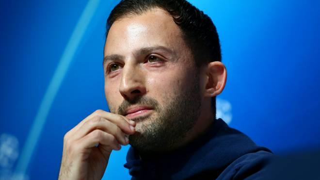 Domenico Tedesco wurde von Huub Stevens als Schalke-Trainer ersetzt