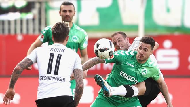 SV Sandhausen v SpVgg Greuther Fuerth - Second Bundesliga