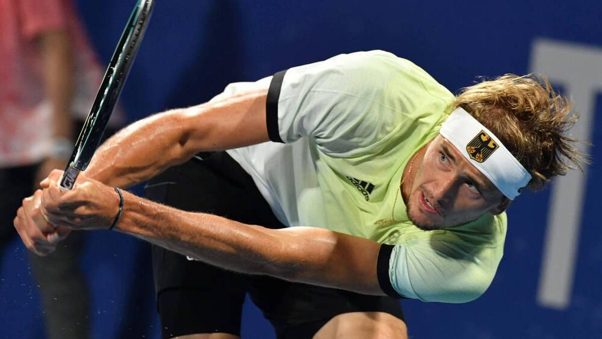 Alexander Zverev steht im Olympia-Halbfinale