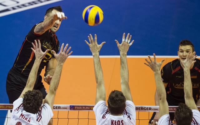 Georg Grozer und die DVV-Herren wollen den Gruppensieg bei der Volleyball-EM