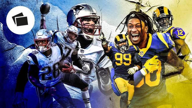 Die Schlüsselduelle im Super Bowl LIII zwischen New England Patriots und Los Angeles Rams mit Brady, Gurley, Donald und Co.