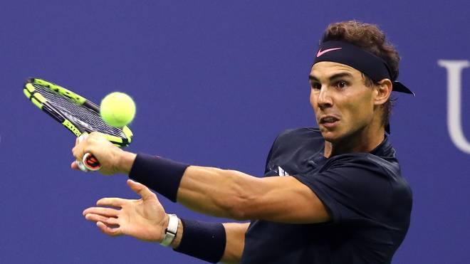 Rafael Nadal kämpft um seinen dritten Titel bei den US Open