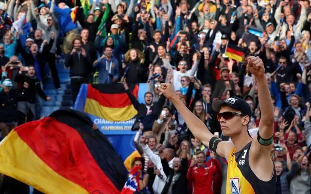 Am Sonntag kämpft das deutsche Team bei der Beachvolleyball-WM 2019 um Gold